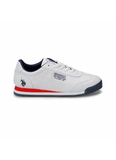 U.S. Polo Assn. Erkek Ayakkabı Deep Summer 100909988 Beyaz